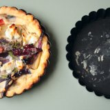 Fennel and Red Onion Quiche