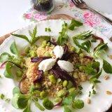 Quinoa and Broadbean Salad