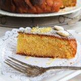 Lemon Almond Cake with Honey