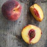 Amaretto Peach Crumble Cake