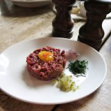 Steak Tartare at The Old Red Cow
