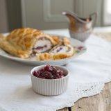Turkey Wellington with Cranberry Sauce