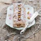 Chestnut Meringue Roulade