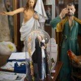 Religious relic studio in Francavilla Fontana