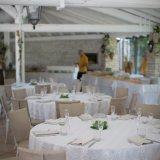 Wedding tables at Tenuta Moreno