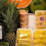 Pineapple and chili salt at Or Tor Kor Market