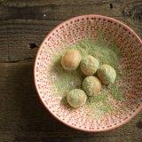Matcha Chestnut Truffles