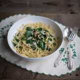 Spinach Pasta with Gorgonzola