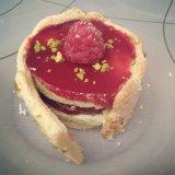 Raspberry pistachio charlotte - Ducasse