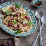 Roasted Cauliflower and Grape Salad