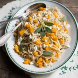 Butternut Squash Pasta with Sage and Goat's Cheese