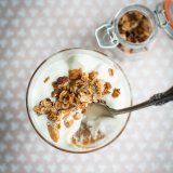 Apple Granola Yoghurt Pots
