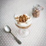 Apple Granola Yoghurt Pots