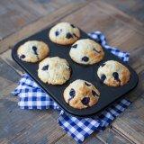 Blueberry Coconut Yoghurt Muffins
