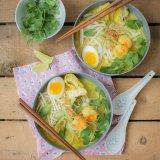 Malaysian Laksa Noodle Soup
