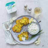 Courgette Fritters Luxlait