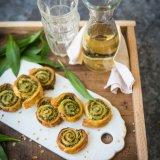 Wild Garlic Pinwheels 2