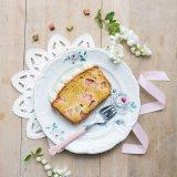 Rhubarb Marzipan Cake 1