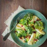 Halloumi Broccoli Bowl