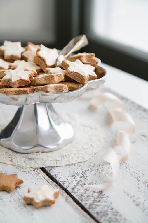Zimtsterne, Cinnamon Star Cookies, Christmas Baking, Recipe