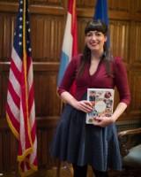 Anne's Kitchen book presentation Luxembourg embassy washington DC