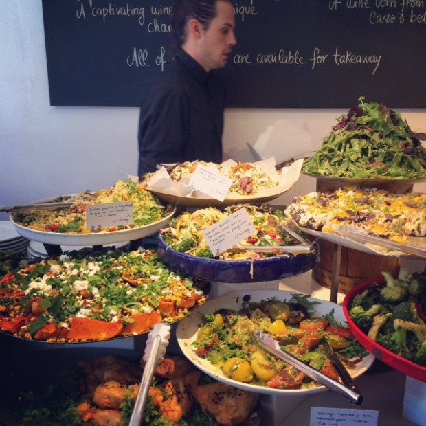 Salads at Ottolenghi