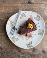 Decadently moist chocolate orange cake
