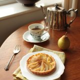 Pear and Frangipane Tartelette