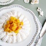 Coconut Mango Pavlova