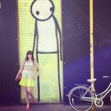Shoreditch is full of cool graffiti