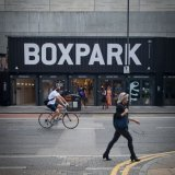 Boxpark in Shoreditch