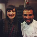 Dishoom head chef Naved Nasir - he's so lovely!