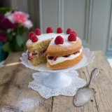 Coconut Victoria Sponge Cake