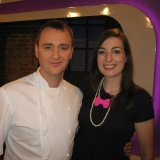 With Jason Atherton on Market Kitchen
