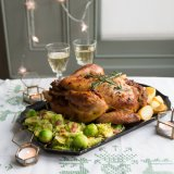 Stuffed capon