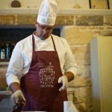 Learning how to make Orecchiette at Masseria Triticum