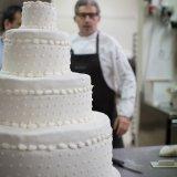 Huge wedding cake at Tenuta Moreno
