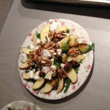 Apple walnut feta salad by Ms Deblir