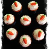 Carrot cupcakes by Laurence Brasseur