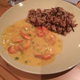 Curried Tiger Prawns Maud Hansen