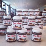 Nutella Jars at The Hive Blogging Conference