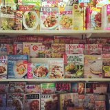 Luxembourg newsstands have a HUGE selection of cookery magazines, in lots of different languages