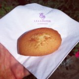 Léa Lister treated me to one of her famous madeleines - the best in the world!