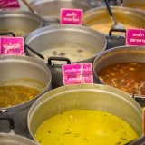 Curries at Or Tor Kor Market