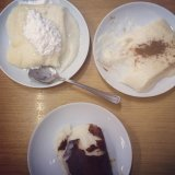 Milk desserts at Özkonak