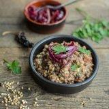 Buckwheat lentil bowls