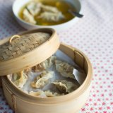 Green Tea Dumpling Soup