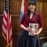 Anne's Kitchen book presentation Luxembourg embassy washington DC