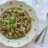 Spelt Pasta with Broccoli Pesto