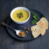 Parsnip curry soup